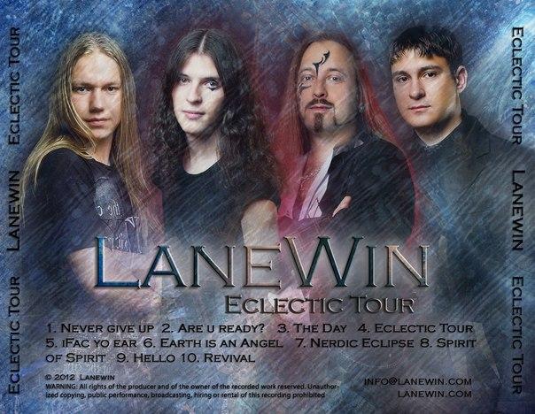 Вышел новый альбом LANEWIN - Eclectic Tour (2012)