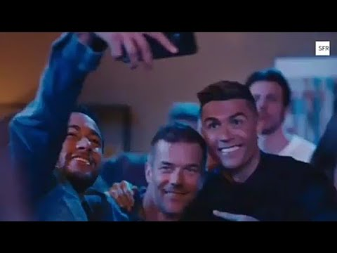 Cristiano Ronald with Neymar jr new commercial for the French Telephony Company Sfr