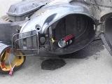 Нетрезвый водитель мопеда влетел в автомобиль