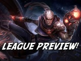 League Preview - LoL Lucian Gameplay - The Gun Templar Abilities Preview!
