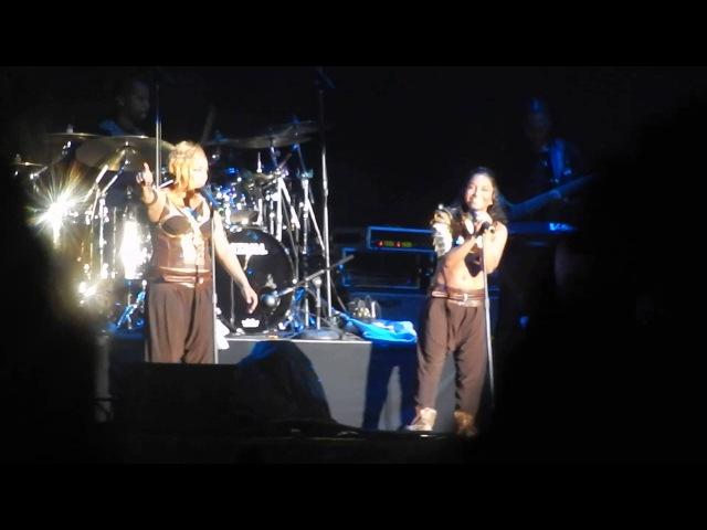 TLC Unpretty Waterfalls No Scrubs VH1 Mixtape Festival 7 27 13