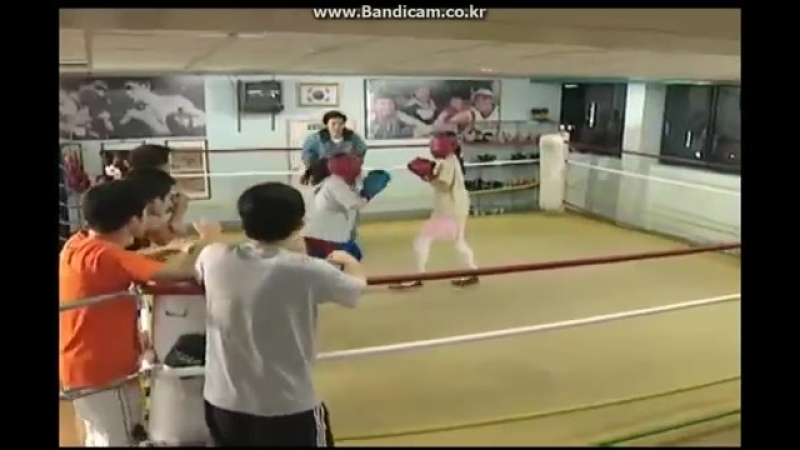 Korea asia Drama High School Female Boxing Scene 2