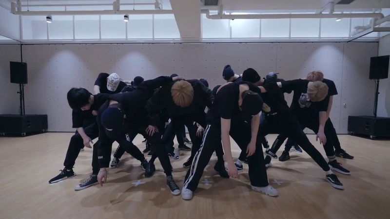 [mirrored] NCT 2018 - BLACK ON BLACK Dance Practice Video