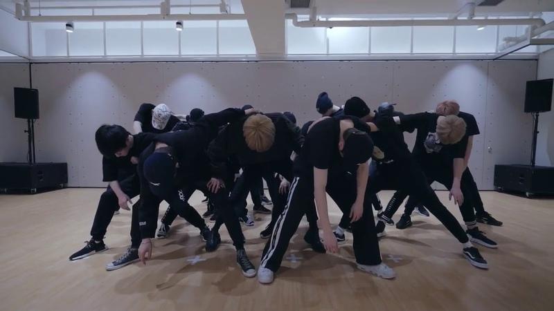 [mirrored] NCT 2018 - BLACK ON BLACK Dance Practice Video
