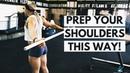 UPPER BODY WORKOUT WARMUP | Shoulder Squats | Performance Care 2018 PCS 20181016