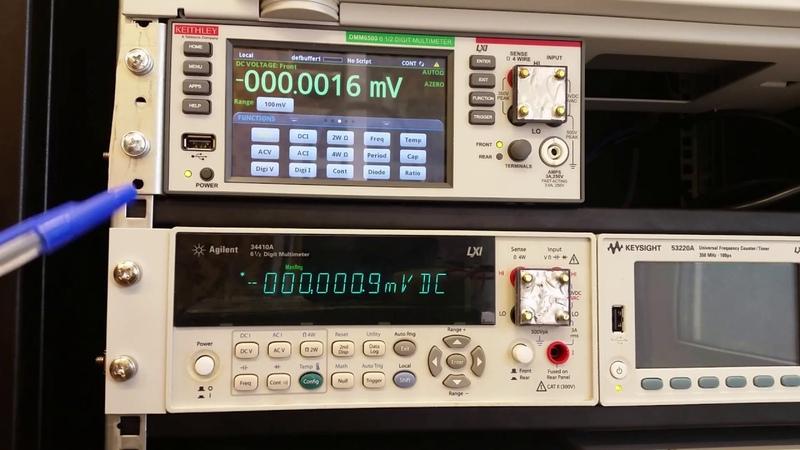 Сага о мультиметрах Keithley DMM6500 и Agilent 34410A (часть 1)