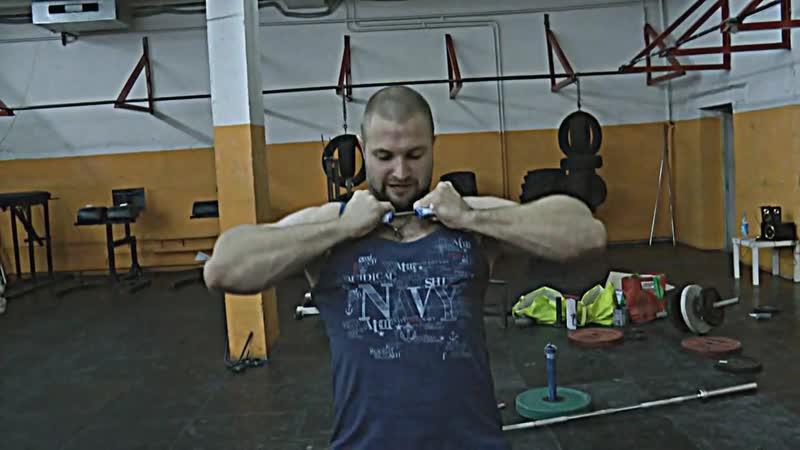 Техника сгибания железа- Double Underhand. Часть 2 (видео с канала Iron Grip Certs)