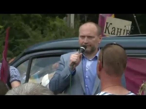 Береза посоветовал митингующим идти под Кабмин