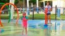 Капризная Настя купается в БАССЕЙНЕ Саша обиделся ИГРЫ в воде для детей Kids Children