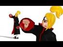 【MMD-Naruto】Deidaraデイダラver1.01