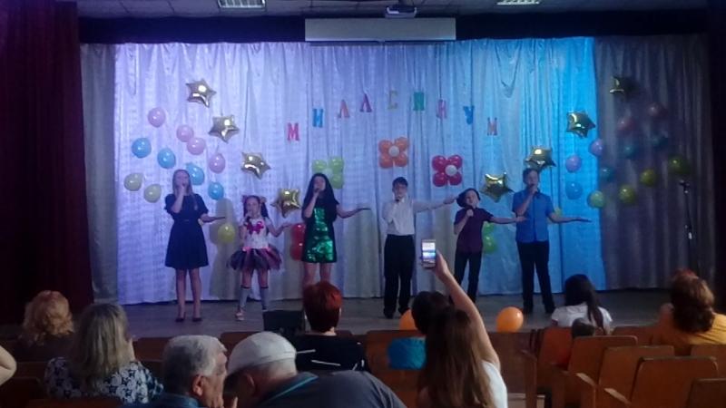 отчётный концерт Эстрадной студии Миллениум
