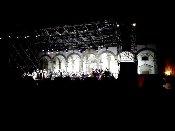 West Side Story - America - The Pilgrims con Orchestra della Toscana@Piazza Ss Annunziata- Firenze
