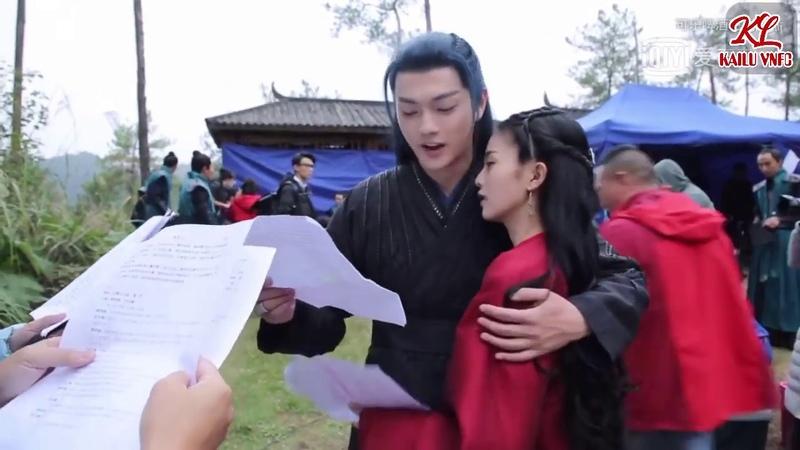 Hứa Khải Bạch Lộc - Tổng hợp hậu trường tình bể bình