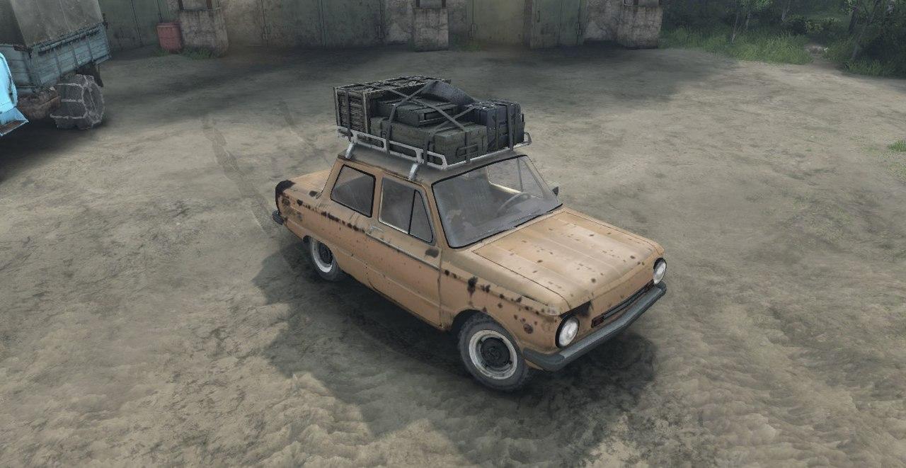 ЗАЗ 968М версия 0.1 test для Spintires - Скриншот 3