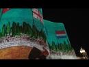 Лазерное шоу на Девичьей башне.