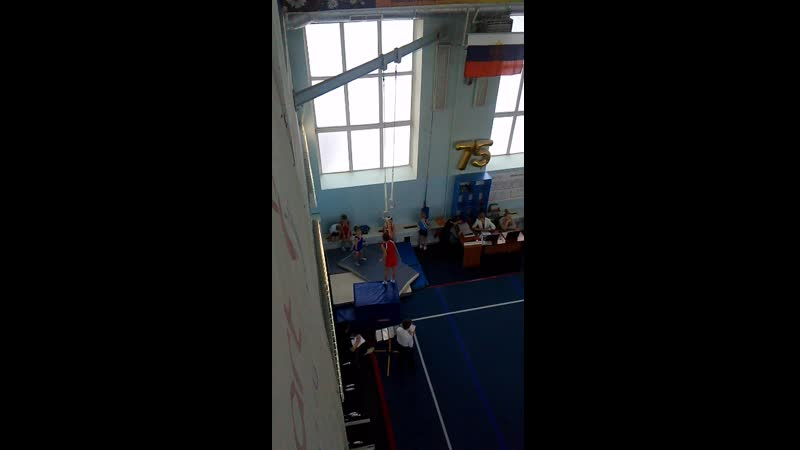Андрей Фомин, 23.03.19 программа 1 юн.разряда по спортивной гимнастике 5