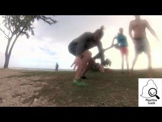 Мультик про спорт на Маврикии.  Март 2014
