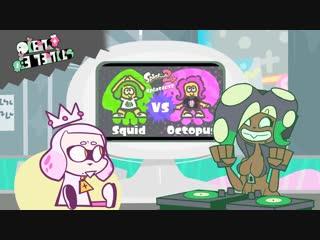 [ANIMATION] Splatfest--Squids VS Octos