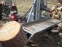 A little different log splitter