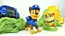 Щенячий патруль и рабочие машинки. Видео для детей на итальянском языке.