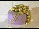 Шоколадные шары МК Торт на мой День рождения Olya Tortik Домашний Кондитер