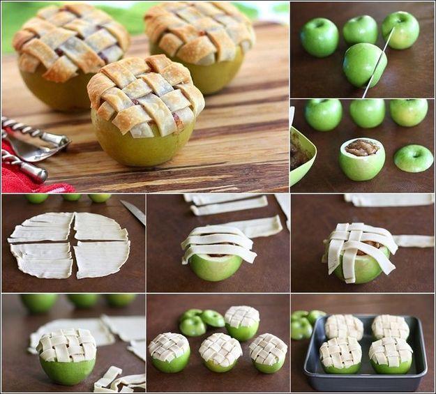 Рецепт запеченных яблок. Отлично подходит длядетских полдников!