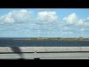 по дороге около Кронштадта красивые барашки Финского залива