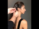 Star scattered french braid hair how to featuring Jennifer Behr Bobby Pins