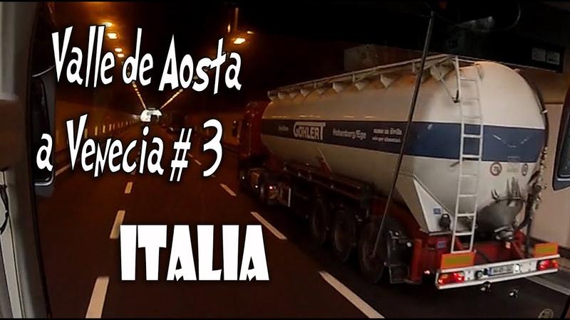 Recorrido VALLE DE AOSTA a VENECIA en Italia 3