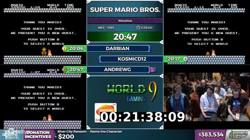 Tellyo QA Test Mario 720p25: Mario 720p25