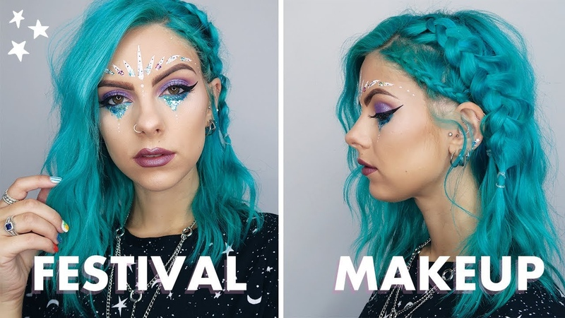 SIMPLE FESTIVAL MAKEUP HAIR with Boots ad