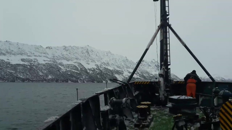 Бухта Надежда Берингово море