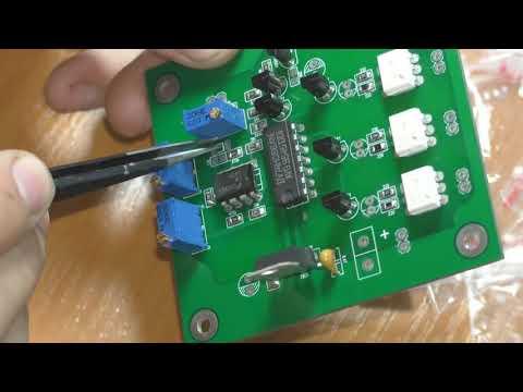 двухканальный лбп часть 3, коммутация обмоток трансформатора, заказ на PCBWay за 5$