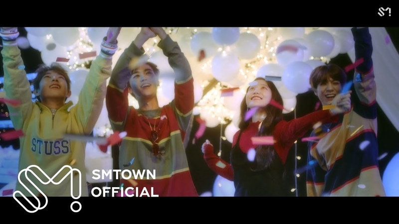 Yeri (Red Velvet), Renjun, Jeno, Jaemin (NCT) - Hair in the Air