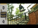 Manny Santiago Heelflip Lipslide Rail Lost & Found Skateboarding Clip #93