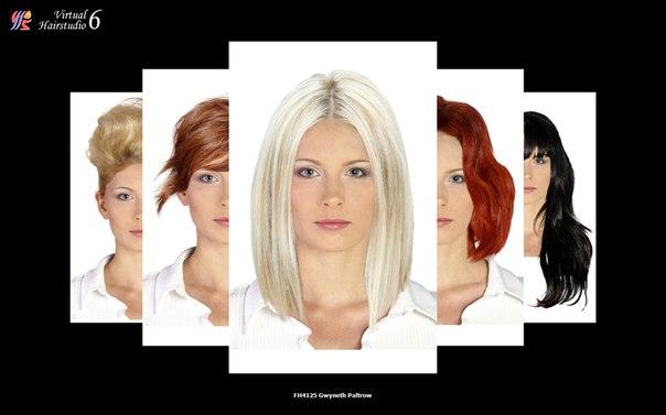 Фото подбора причёсок