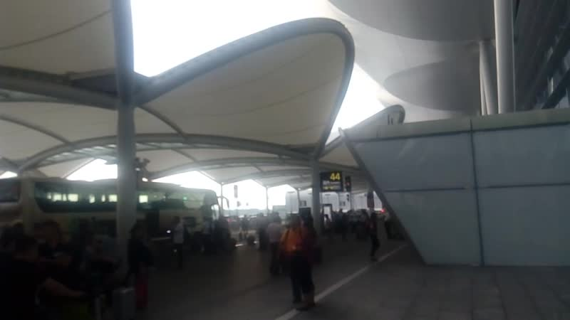 Навес Аэропорта Гуанчжоу Баюнь