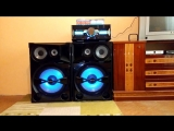 Sony Shake 7 Bass Test rd1