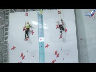 Екатеринбурженки завоевали золото и бронзу на Кубке России по скалолазанию