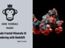 CGMK Tutorial - Rendering the Mineral with Redshift ( HIP file and Substance textures available )