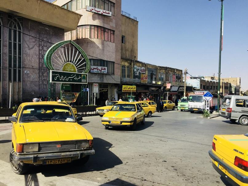 Иран 4. Отель Yas