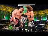 AJ Styles shows no mercy against Samoa Joe WWE Crown Jewel 2018 (WWE Network Exclusive)