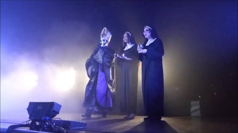 Ghost in Houston,Tx 4/26/16 - Sisters of Sin
