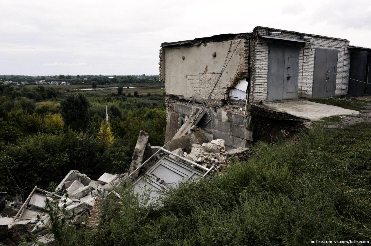 Життя міста Біла Церква: Обвал гаражів на Комсомольській,  ГБК СТАВИ