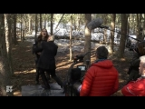 WYNONNA EARP _ Behind The Scenes_ Seeing Double And Holler Back, Girl _ SYFY