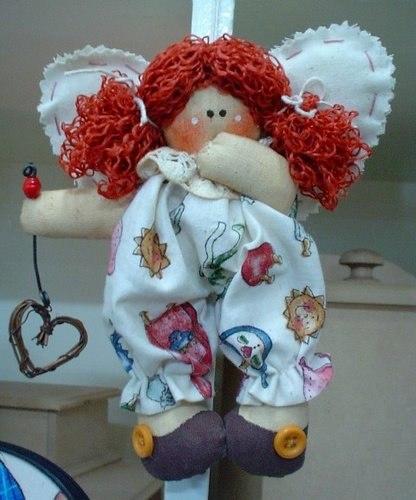 Кукла ангел из ткани своими руками мастер