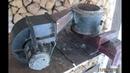 горелка на отработке ч1