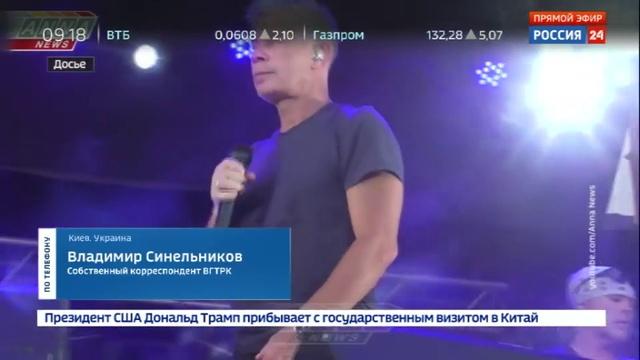 Новости на Россия 24 • Особенности гастролей на Украине: разрешение артистам из РФ будет давать СБУ