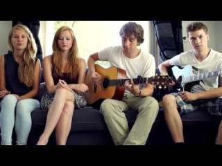 Wake Me Up -- Avicii ft. Aloe Blacc (Cover by Carlijn & Merle) ft. Kjelt and Tom