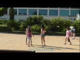 Канкан - танец болгарских детей в Балчике